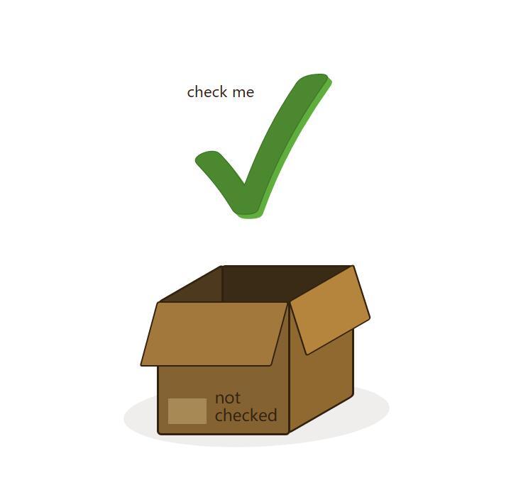 html5css3 3d立体盒子效果checkbox复选框美化样式代码