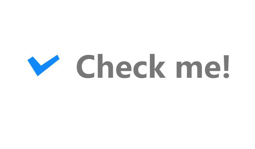 CheckBox复选框美化css3样式网页素材代码