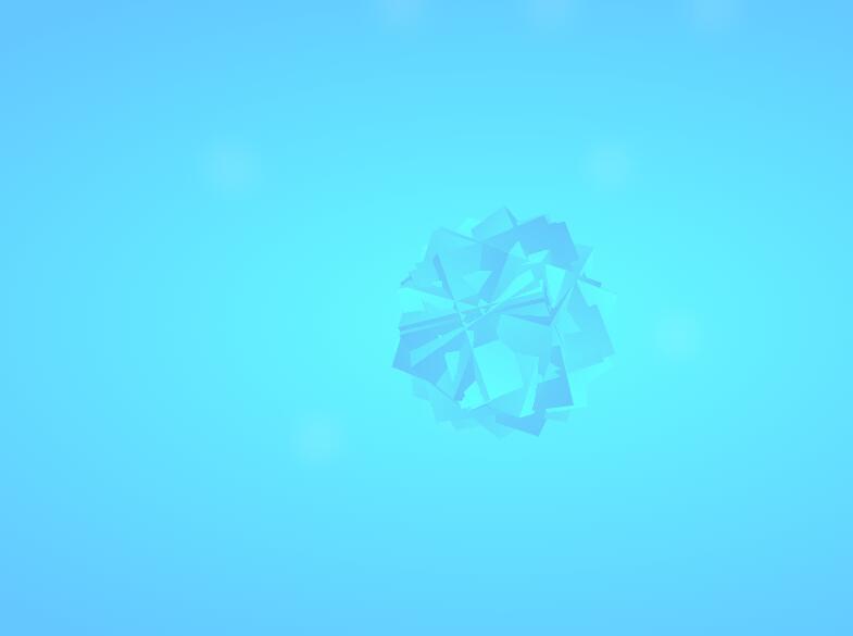 html5css3水晶模型旋转动画特效样式代码