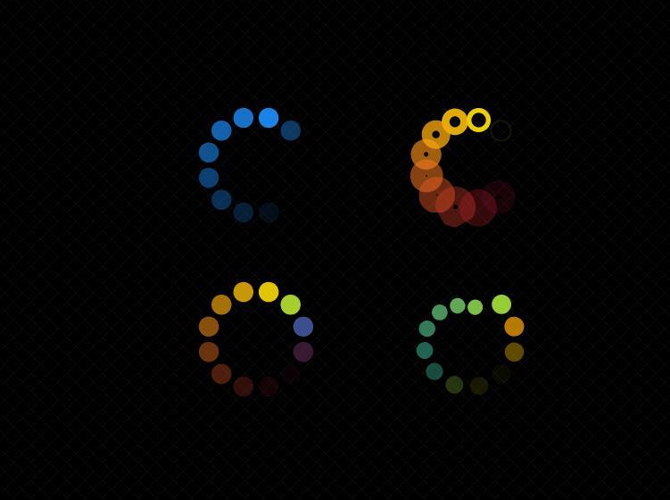 svg环形页面等待加载图标动画js特效代码