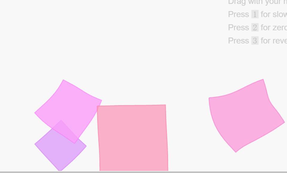 canvas网站透明立方体几何图形动画js特效代码