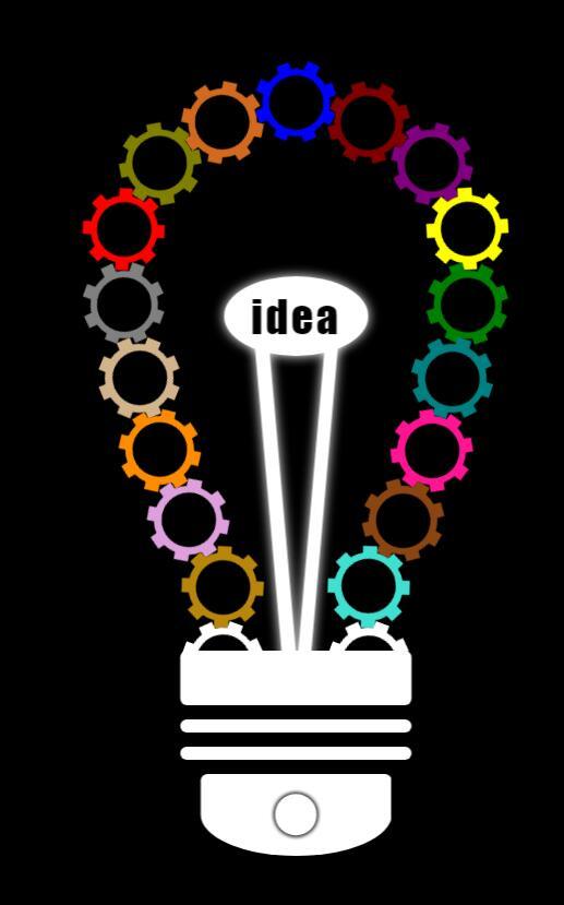 div css此轮圆形彩虹旋转组合灯泡效果网页样式代码