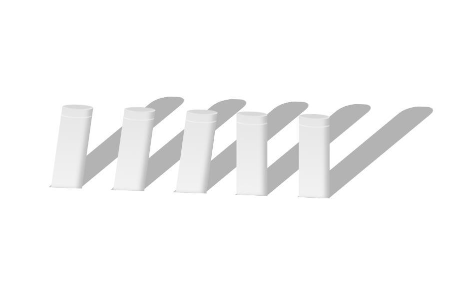 css3 3d柱状图形鼠标悬浮倾斜阴影动画样式代码