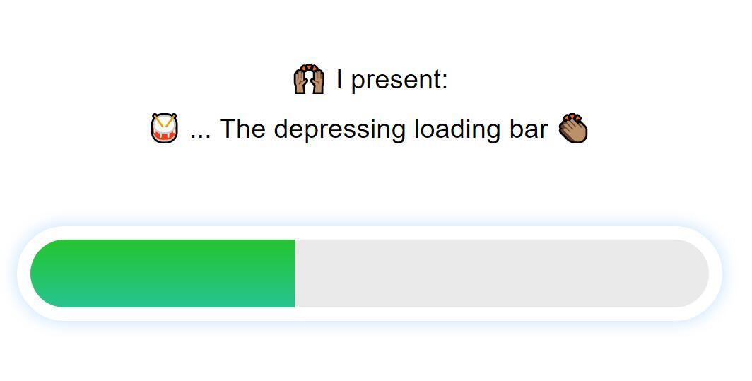 css3圆角条形图层页面加载loading进度条动画特效