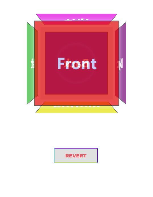 3d立方体图层css3旋转动画特效网页素材代码