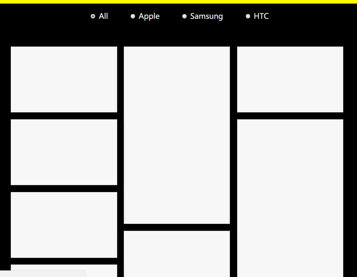 图集相册高度自适应瀑布流插件排版布局jQuery特效代码