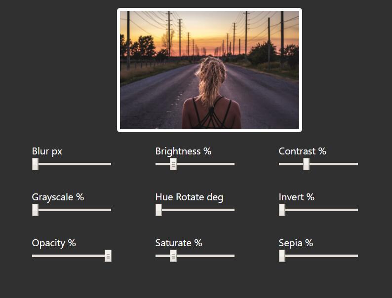 css Filters过滤器属性仿ps软件批图效果样式代码