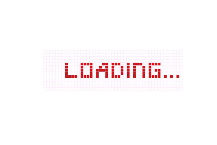颗粒文字预加载器loading页面文字无间断循环滚动代码