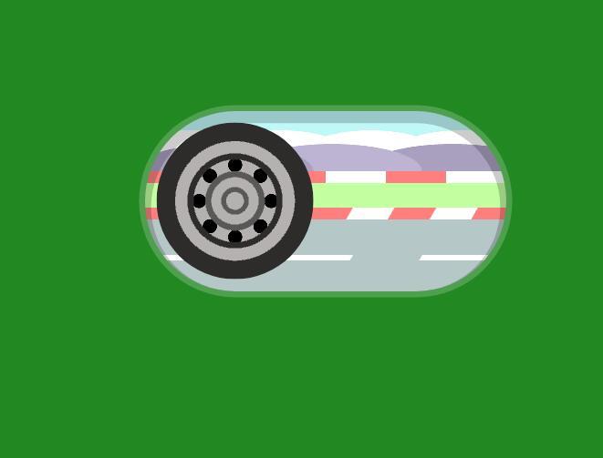 汽车轮胎模型旋转css3开关按钮代码