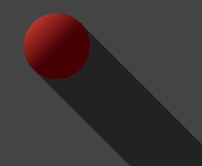 html5css3 3d球形灯光下倒影效果样式代码