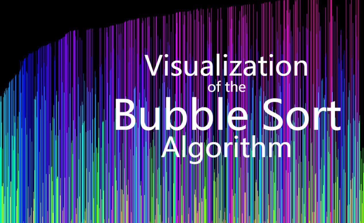 html5 canvas气泡排序算法可视化特效JavaScript代码
