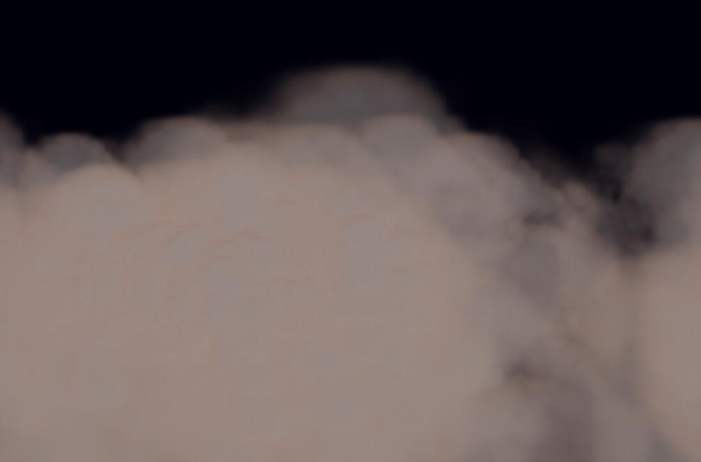 html5 canvas颗粒喷雾云朵动画效果JavaScript代码