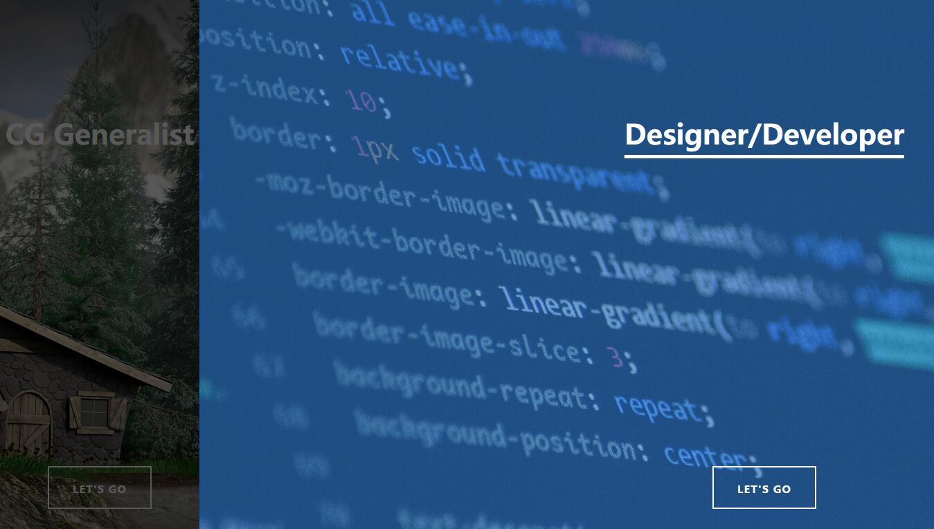 鼠标悬浮双滑动登录页面动画切换css3样式代码