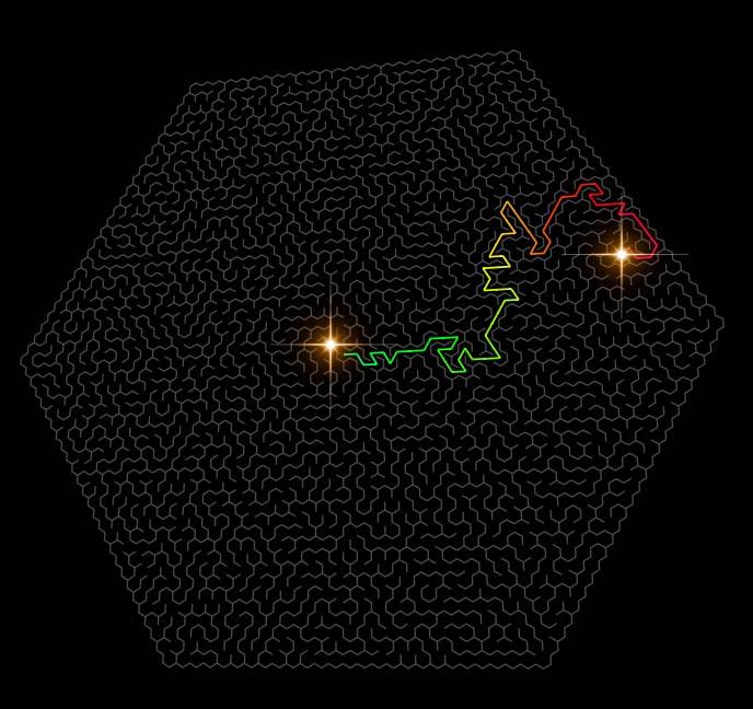 html5网站模板canvas迷宫特效JavaScript代码