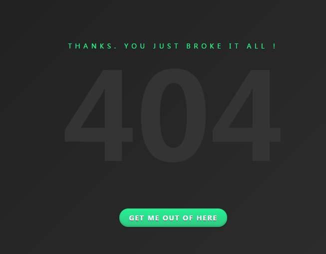 鼠标悬浮404方向感知文本阴影jQuery代码