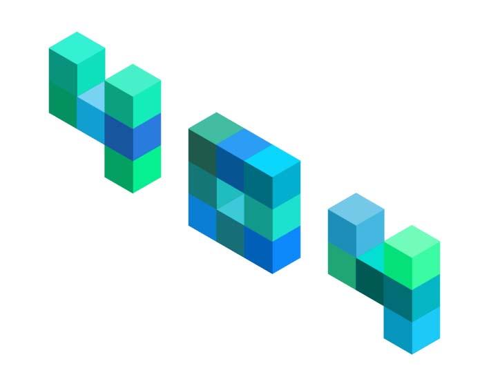 html5css3立方体彩色闪光屏特效404页面样式代码