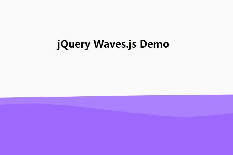 svg网页特效背景图层波浪动画层次效果js代码