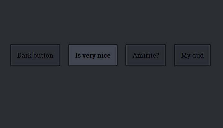html5css3闪电黑暗圆角button按钮样式代码
