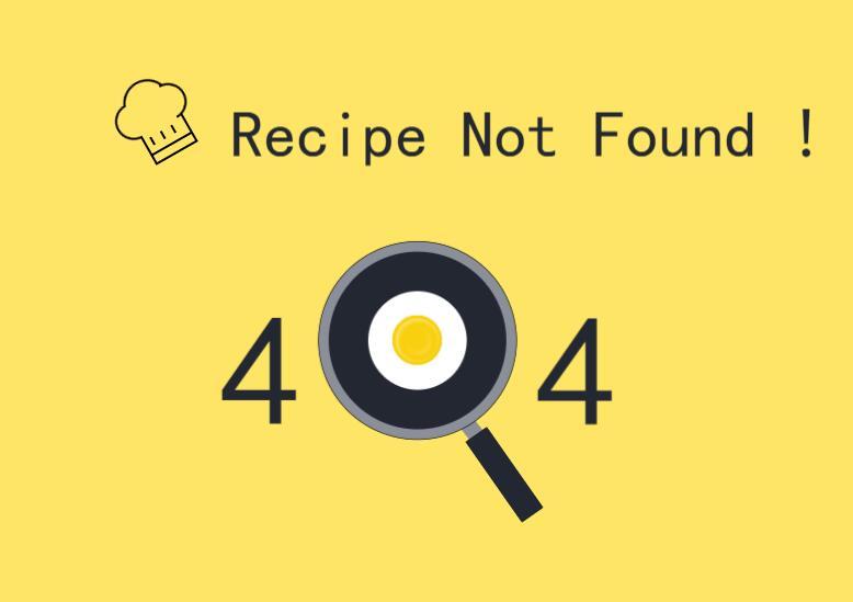荷包蛋放大镜图标风格动画效果404错误页面样式代码