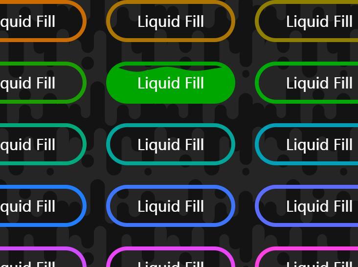 Splatoon风格的液体填充按钮css3动画样式代码