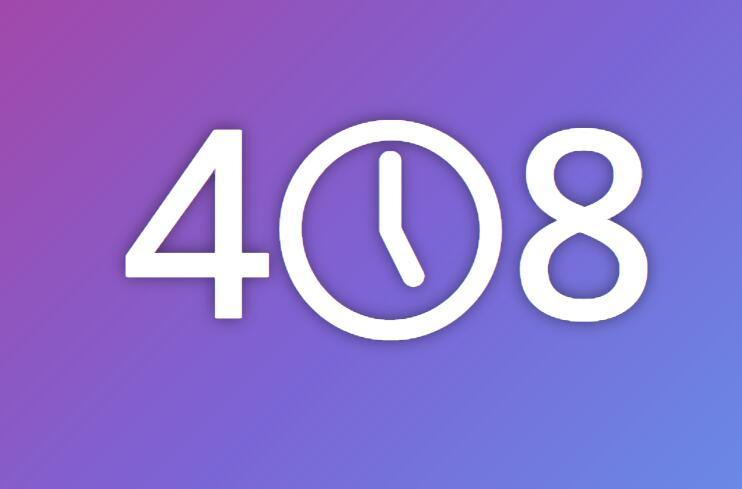 网站服务器请求超时408文字css3伪类动画样式代码