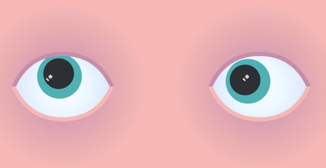 html5模板网站canvas画布眼睛动画鼠标跟随特效JavaScript代码