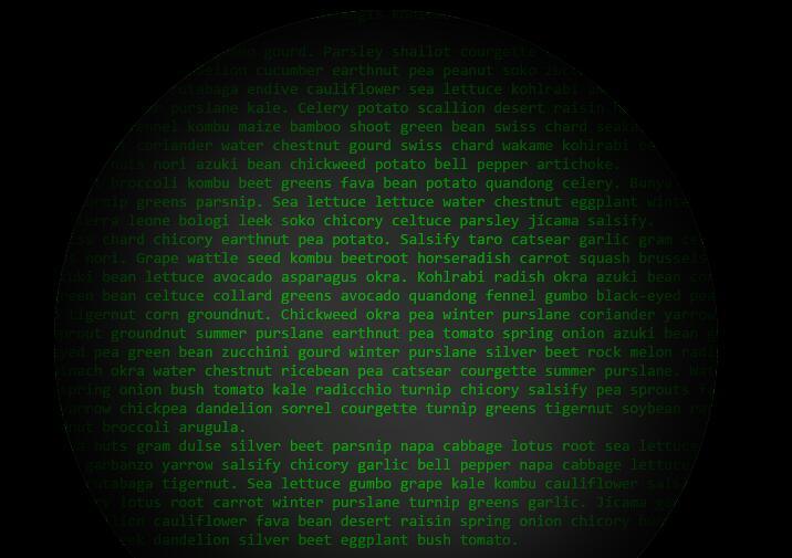 鼠标跟踪聚焦divcss圆形图层文字照明特效jQuery代码
