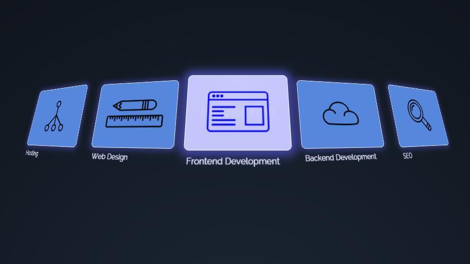 鼠标悬停divcss图层3d展开动画效果样式代码