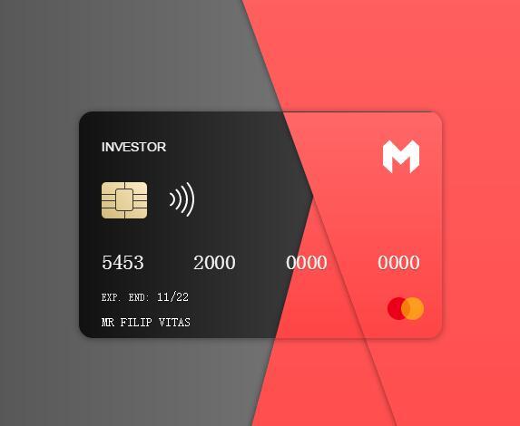 divcss圆角信用卡3d立体翻转动画样式代码