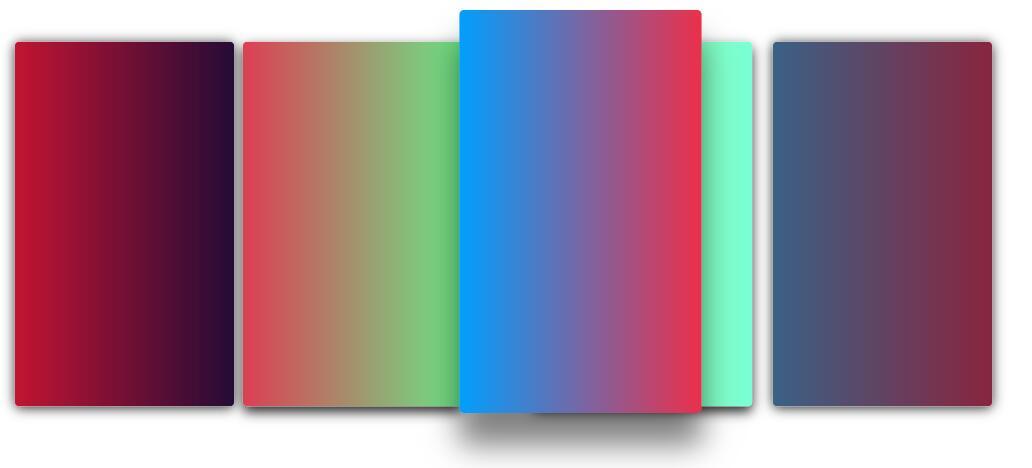 堆叠图像库圆角阴影鼠标悬浮过度放大css3样式代码