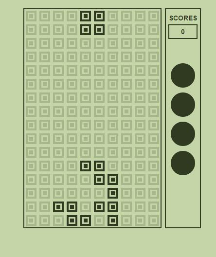 divcss网页版俄罗斯方块小游戏jQuery源码