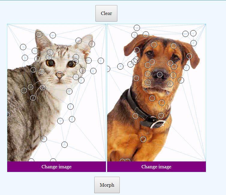 两张图片形状模型渐变切换插件jQuery代码