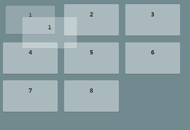 angular.js图层拖拽移动位置特效插件网页代码