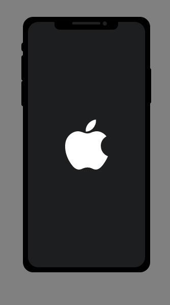 svg黑色Apple手机模型样式代码