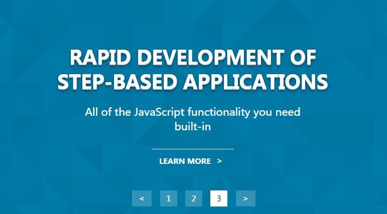 网页全屏banner背景图片文字滑动分页Sequence.js插件