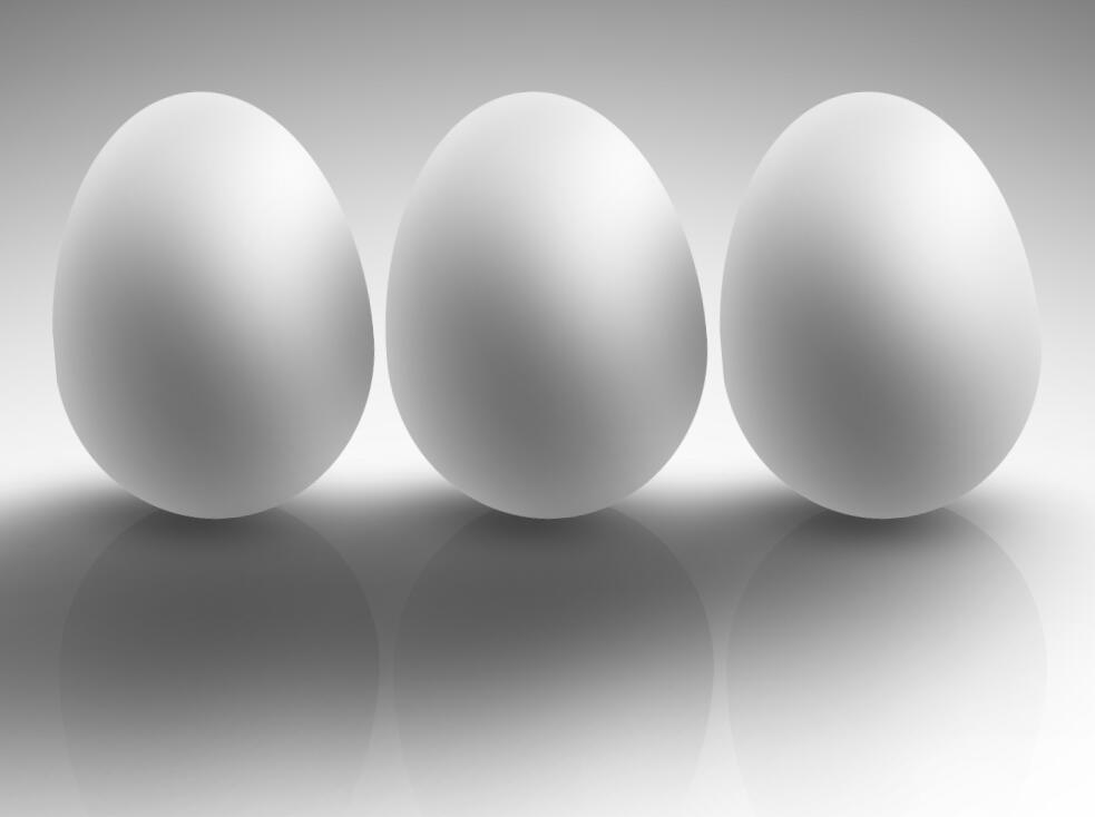 css3 3d鸡蛋模型阴影摇摆动画样式代码
