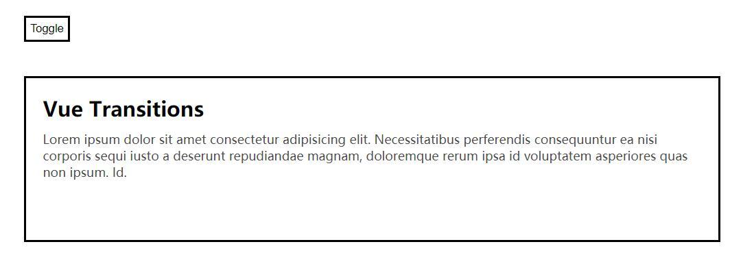 Transition标签结合vue代码v-if判断语句实现div隐藏显示特效