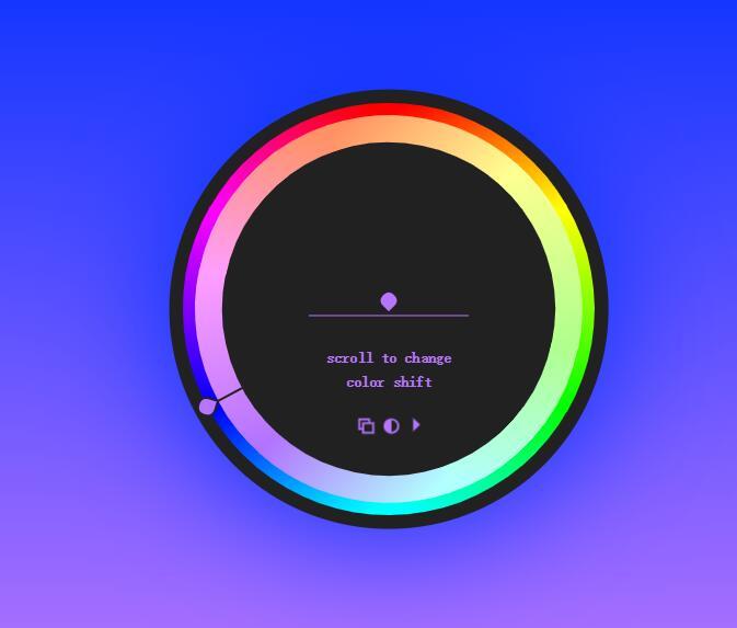 网页背景色选择器vue插件代码
