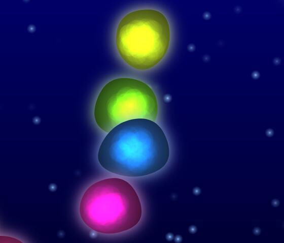 canvas水晶钻石漂浮动画JavaScript代码