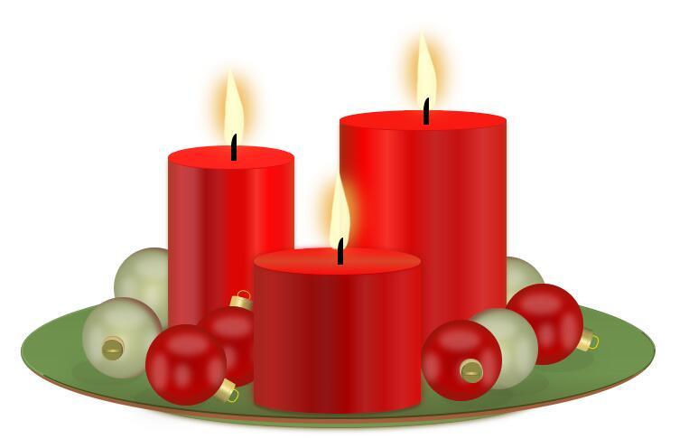 css3 3d红光蜡烛样式特效代码