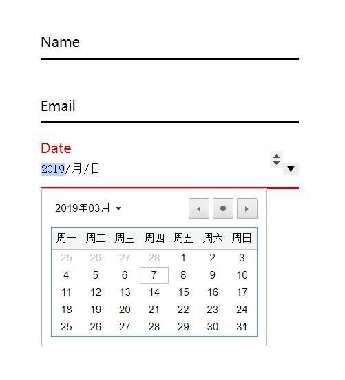 html5网站登录注册表单页面样式代码