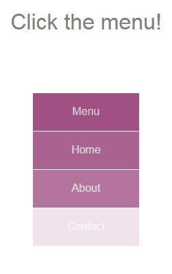 鼠标click点击渐变隐藏显示目录导航checkbox标签代码