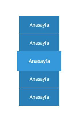网页垂直文字CSS3菜单鼠标悬停Transition放大样式代码