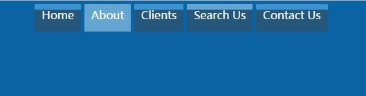 博客网站导航菜单栏鼠标悬浮div滑块半透明显示样式代码