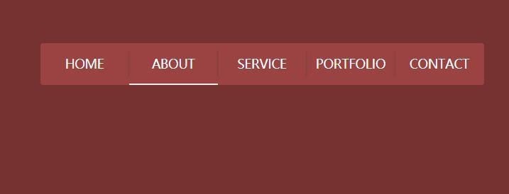 网页导航菜单栏before伪类标签鼠标悬浮动画样式代码