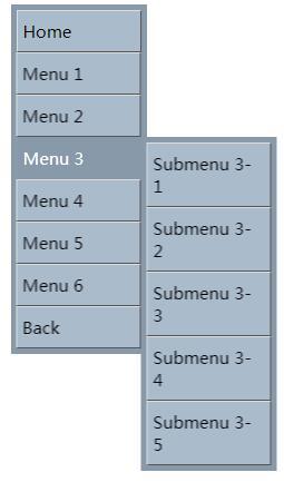 垂直3d导航菜单鼠标hover翻转显示二级菜单jQuery代码