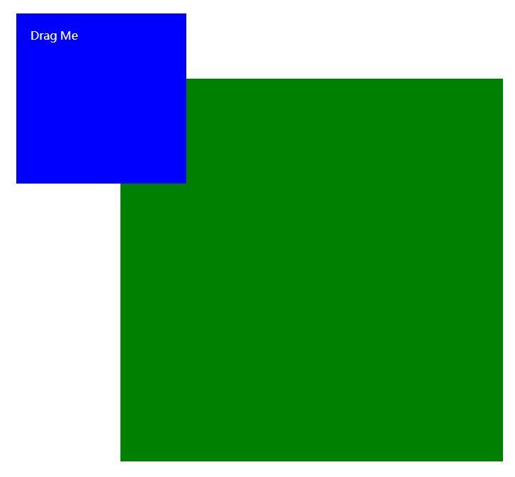 js代码随意拖拽div图层移动特效