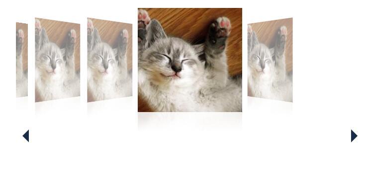 网页图片倾斜滑动展示幻灯片插件代码