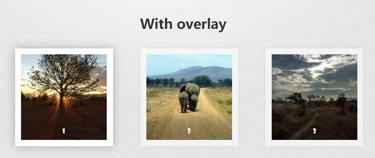 网页图片列表点击放大预览效果jQuery插件代码