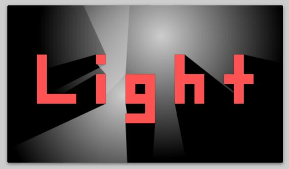 网页文字鼠标悬浮发光特效js代码